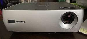Infocus W260 DLP Projector with Cords for Sale in Dallas, NC