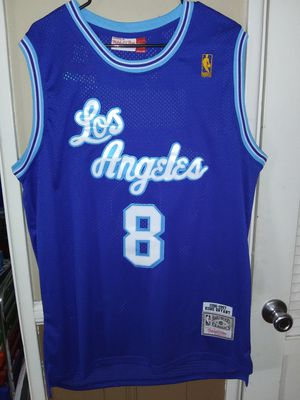 New!!! Mens XXL Fitted Kobe Bryant Los Angeles Lakers Jersey Stitched $50. Ships +$3. Pick up in West Covina for Sale in West Covina, CA
