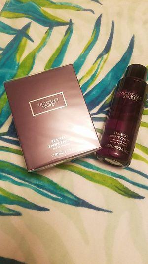 Basic Instinct, perfume, mist, Victoria's Secret for Sale in Selma, CA