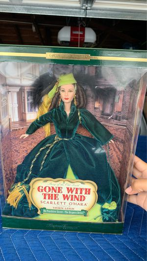 BARBIE DOLL GONE WITH THE WIND TIMELESS TREASURES SCARLETT O'HARA for Sale in Garden Grove, CA