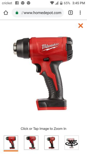 Brand New in box. Milwaukee M18 18-Volt Lithium-Ion Cordless Compact Heat Gun (Tool-Only) for Sale in Austin, TX
