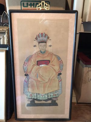 Oriental picture framed for Sale in Santa Clara, CA