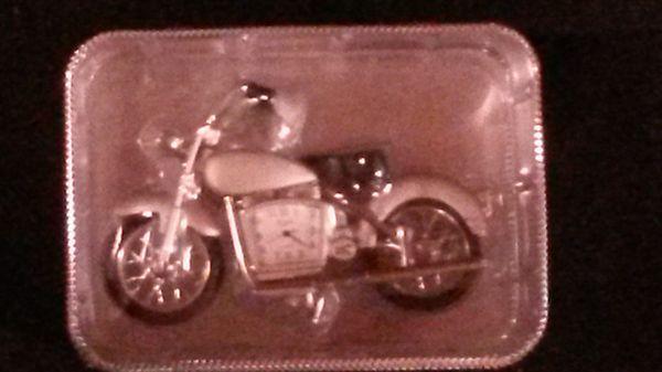 Elgin Motorcycle Clock