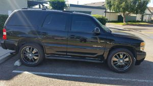 23' black powder coated rims and tires for Sale in Santa Ana, CA