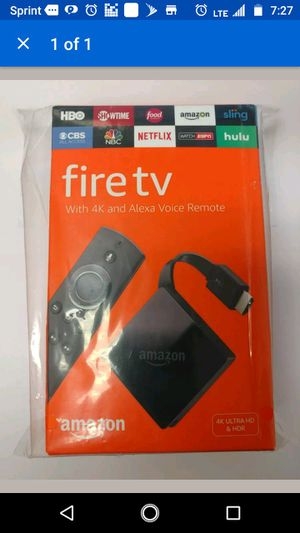 Amazon fire tv for Sale in Richmond, VA
