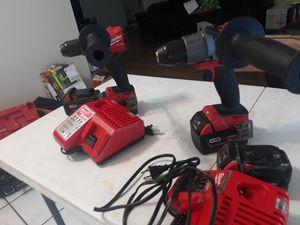 Milwaukee FUEL hammer drill for Sale in San Antonio, TX