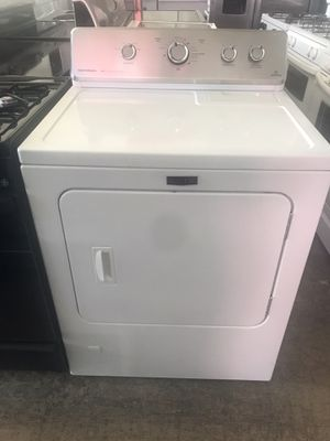 Vertex appliances. Used, gas dryer, Maytag, white color, new model, heavy duty , great new condition for Sale in San Jose, CA