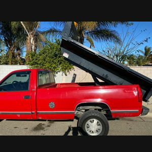 Little Red Dump Truck And Driver For Hire $60hr Plus Fees If Applicable for Sale in San Ramon, CA