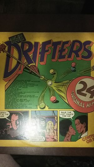 LP The drifters 24 original hits for Sale in Jacksonville, FL