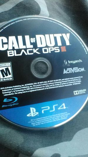 CALL OF DUTY BLACK OPPS 3 for Sale in Charlotte, NC