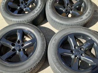"""L@@K Dodge Ram OEM Stock 20"""" Black 5-Spoke Rims DG56 Wheels 20x9 for Sale in Smithfield,  VA"""
