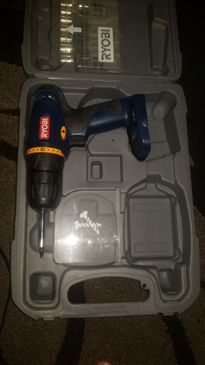 Ryobi drill with battery for Sale in Oakland, CA