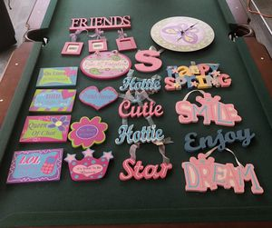Decor for girls room for Sale in FL, US