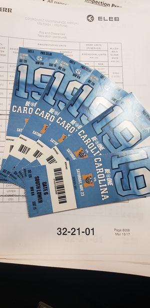 Carolina Tickets for Sale in Winston-Salem, NC