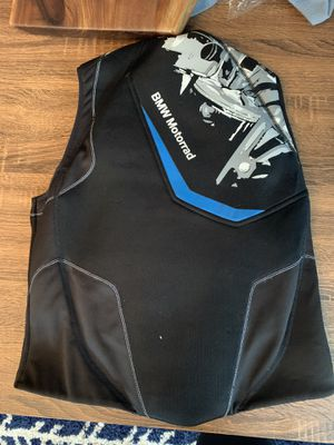 BMW Motorrad Protective Motorcycle Vest XL for Sale in Pittsburgh, PA