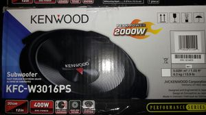 """4-12"""" kendwood subs new for Sale in West Palm Beach, FL"""