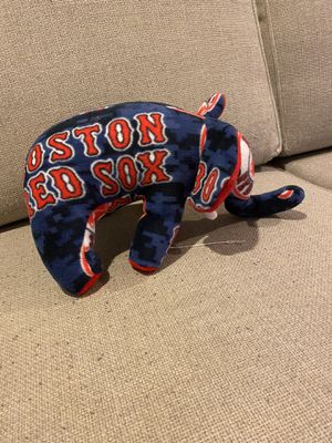 Red Sox themed kids Elephant soft toy for Sale in Quincy, MA