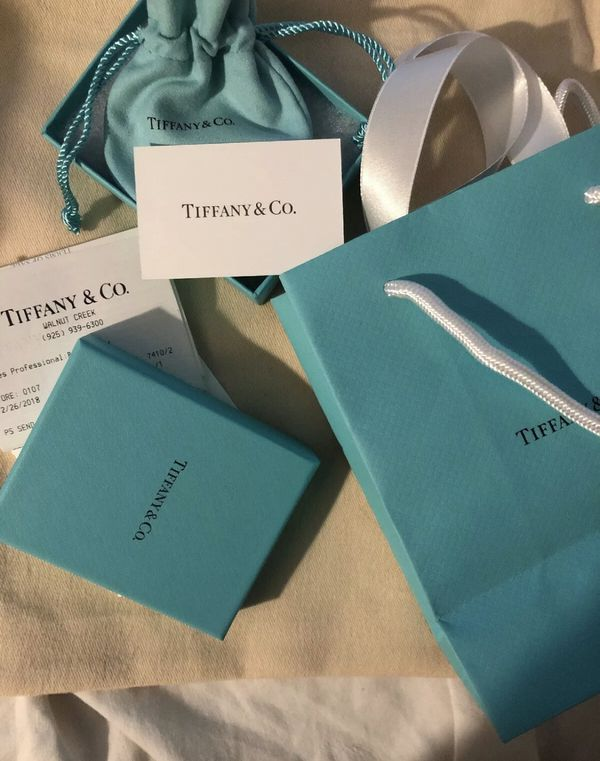 Tiffany & co Elsa Peretti Diamonds by the yard bracelet New!
