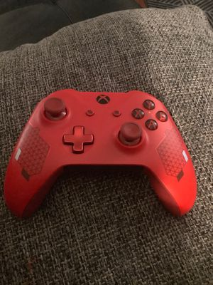 Xbox one red sport controller for Sale in Glen Ellyn, IL