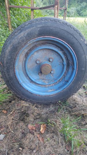 Rims tires and axle for small boat for Sale in Batsto, NJ