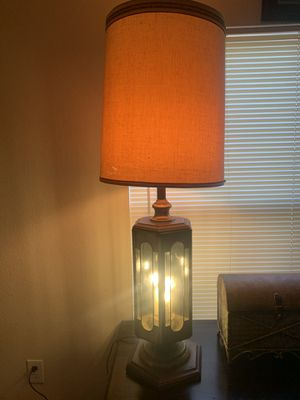 Large antique table lamp for Sale in Austin, TX