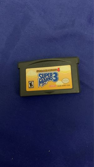 GAMEBOY ADVANCE GAME (SUPER MARIO BROS 3) for Sale in San Dimas, CA