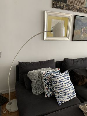 White arc lamp for Sale in Culver City, CA
