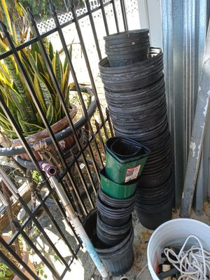 Plant pot 2 for 1 dollars for Sale in Lake Worth, FL