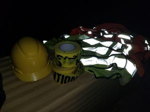 Hard Hat, Caution Tape, Safety Vests for Sale in Corona, CA