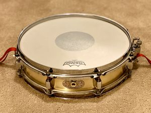 "Pearl 13x3"" Brass piccolo snare drum • Super Hoops • Puresound Snares • sanded finish for Sale in Phoenix, AZ"