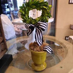 Faux Boxwood Topiary Wreath for Sale in City of Industry,  CA