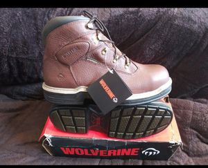 Men's wolverine work boots sz 11 shipping only no pickup for Sale in Jacksonville, FL