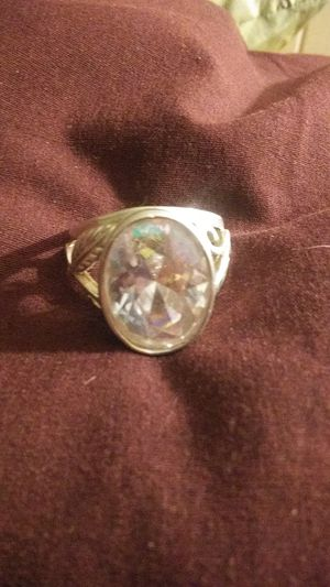 Gorgeous Sterling Silver w Oval Aurora Borealis Gemstone for Sale in Saint Charles, MO