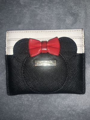 Kate Spade Minnie Mouse Card Wallet for Sale in Santa Ana, CA