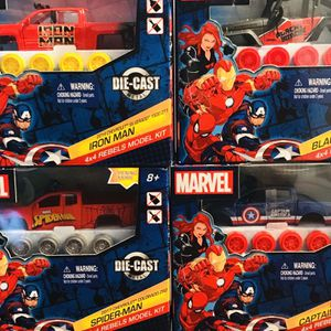 Marvel 4x4 Rebels Model Kit Lot Of 4 for Sale in East Providence, RI