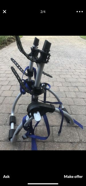 Thule trunk bike rack for trade for hitch rack for Sale in Winter Springs, FL