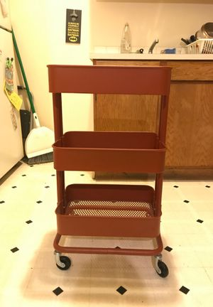 Rolling Organizer/shelf unit for Sale in Seattle, WA