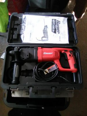 "NEW BAUER 1"" SDS PRO ROTARY HAMMER KIT for Sale in Clackamas, OR"