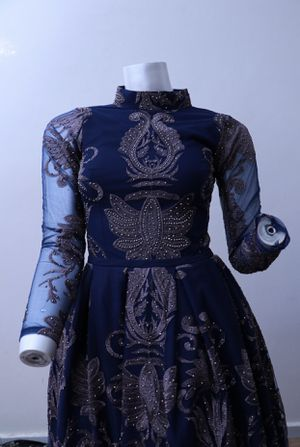 Long sleeves evening prom dress long sleeves for Sale in Farmington Hills, MI