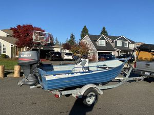 17 foot Aluminum boat for Sale in Puyallup, WA