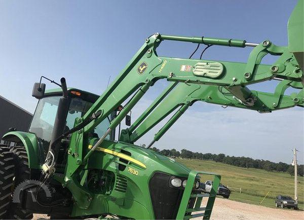2007 John Deere 7630 Tractor $17,500