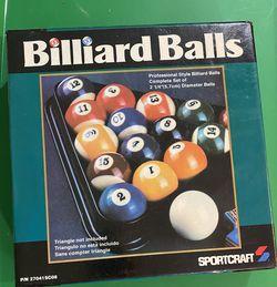 Billiards balls for Sale in Waco,  TX
