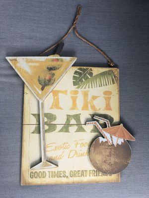 Vintage Tiki bar sign for Sale in Wenatchee, WA