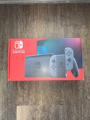 Nintendo Switch with Gray Joy‑Con 32GB Console - HAC-001(-01) for Sale in South San Francisco, CA