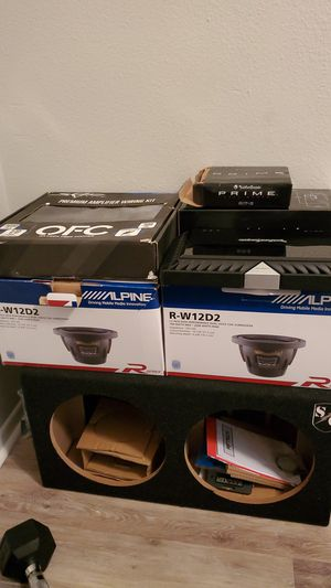 Car audio subwoofers for Sale in San Marcos, TX