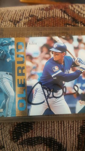 Authentic 1994 Select Autographed John Olerud baseball card for Sale in Stanwood, WA