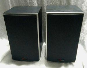 POLKAUDIO M10 Black Bookshelf Desktop 2-Way Loudspeakers Speakers *TESTED* for Sale in Largo, FL