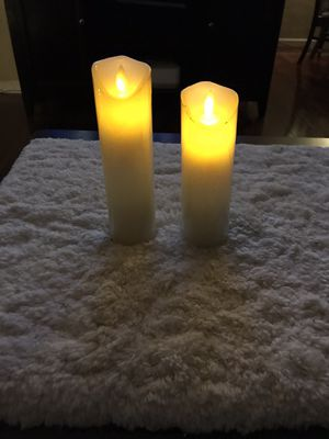 "2 LED Candles 1- 8"" Tall X 2"" Wide. 7"" Tall X 2"" Wide. Pick Up In Van Nuys CA. Both for $8 for Sale in Los Angeles, CA"
