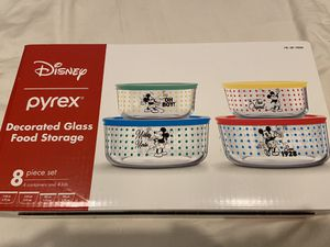 Mickey Mouse Pyrex glass food storage for Sale in San Diego, CA