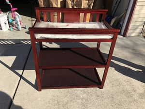 Changing table for Sale in Roseville, MI